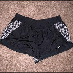 Women's black Nike shorts Medium